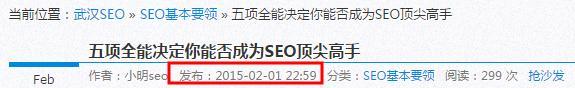 """档案解密:两个月将""""武汉SEO""""送上首页"""