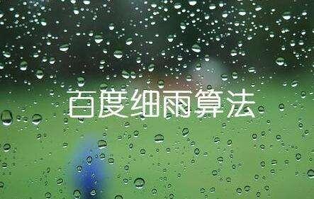 详细理解细雨算法2.0规则分析