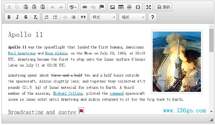 整理15款实用WEB富文本编辑器