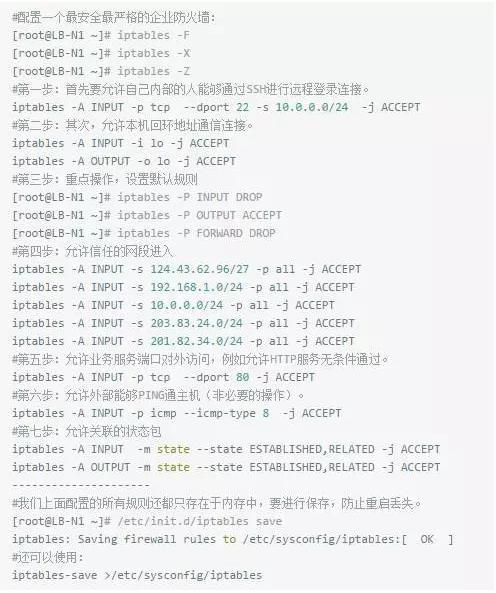 技术分享:图文详解防火墙iptables与NAT服务