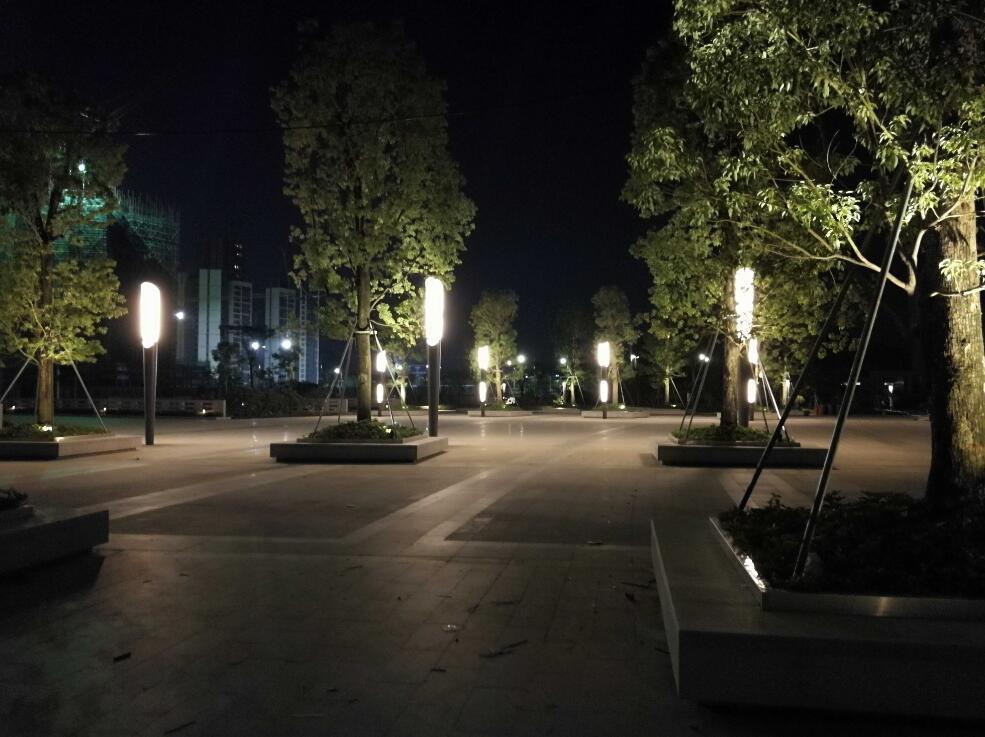 社区生活之光—城市公园的景观照明设计