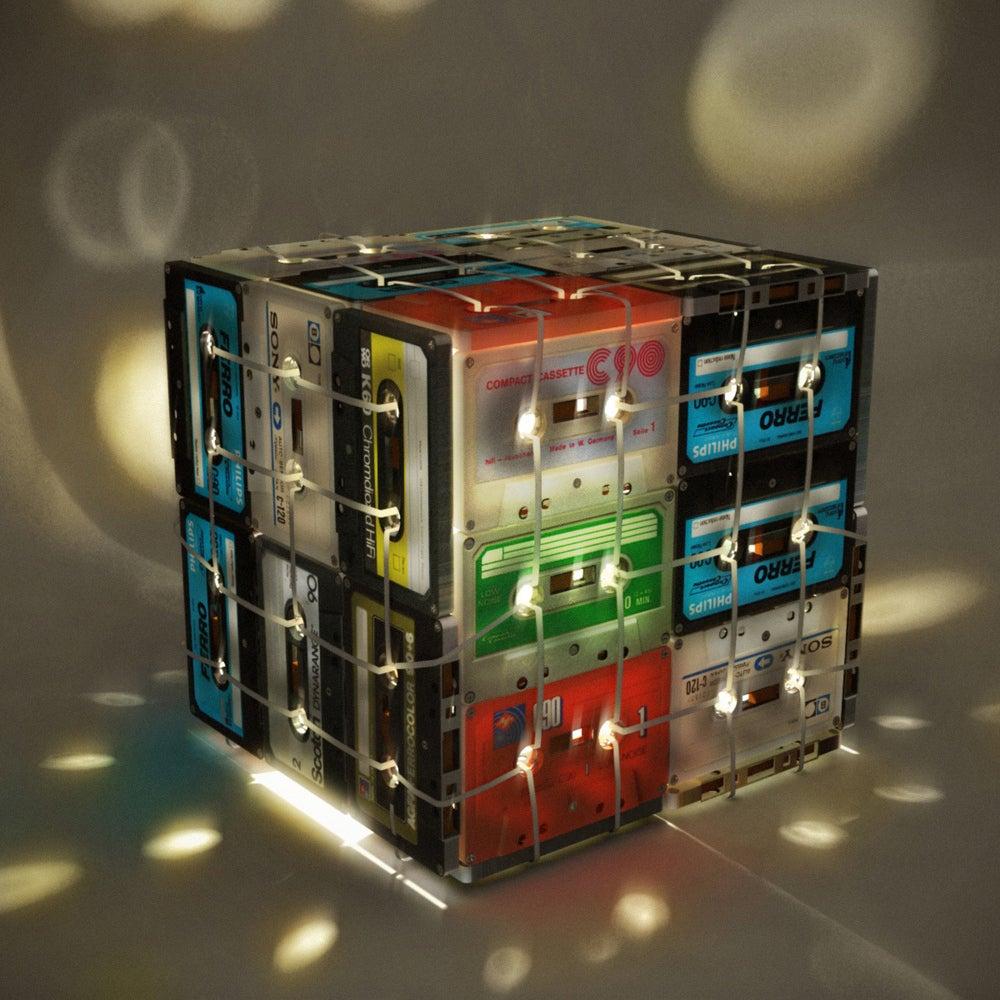 当声音变成光 照亮你的生活—西班牙创意磁带灯箱