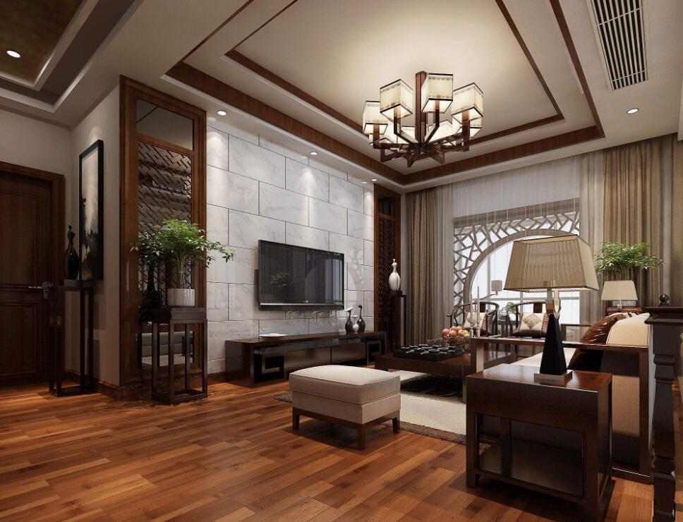 古典中式风格的别墅照明设计