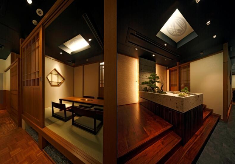 日本料理餐厅的照明设计案例分析