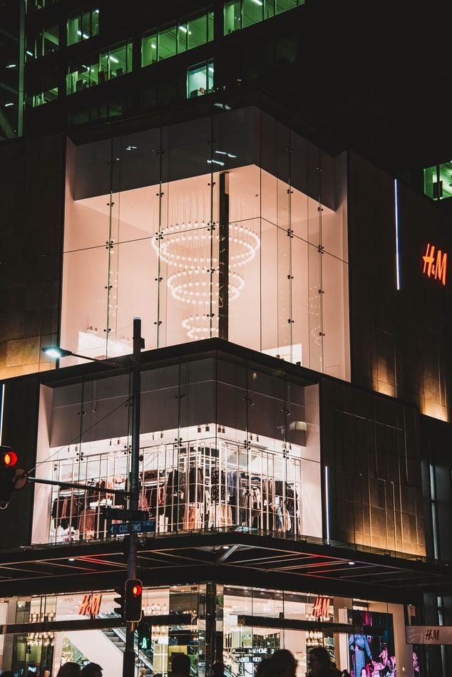 商业空间照明设计—光与人视觉的关系